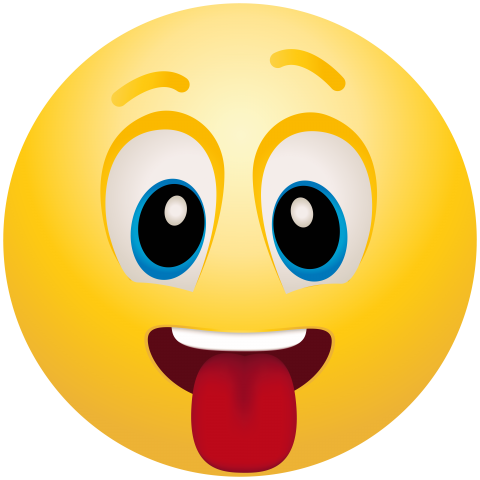 Emoji tongue out png clipart. Emoticon free images toppng