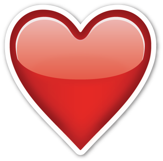 Emoji whatsapp corazones png. Heavy black heart pinterest