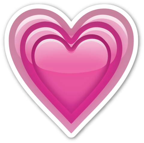 Emoji whatsapp corazones png. Growing heart pinterest emojis
