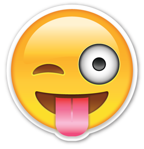 Emoji whatsapp png beso. Face with stuck out