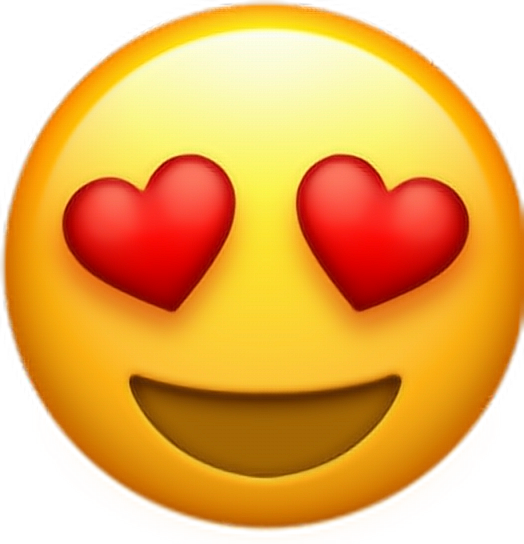 Emoji kiss png. Emoticon smiley heart whatsapp