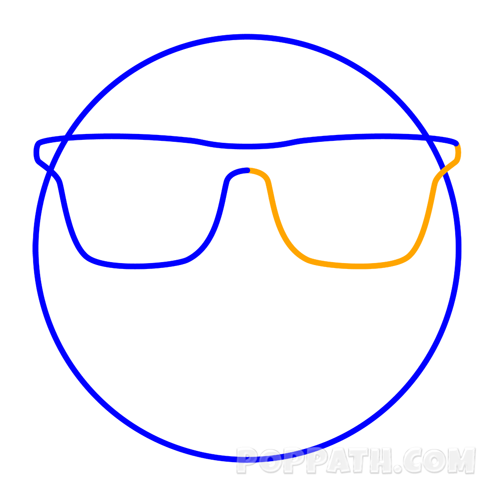 Shades drawing well. How to draw a