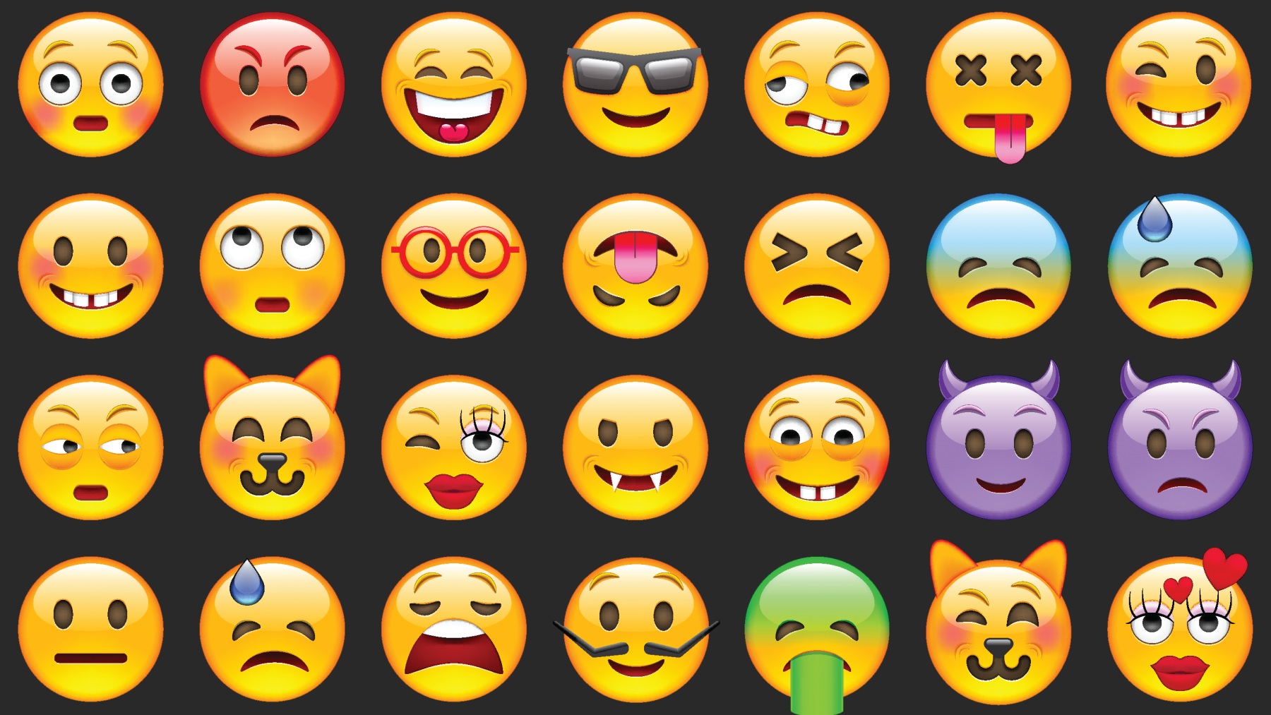 Emojis drawing creative. The art science of