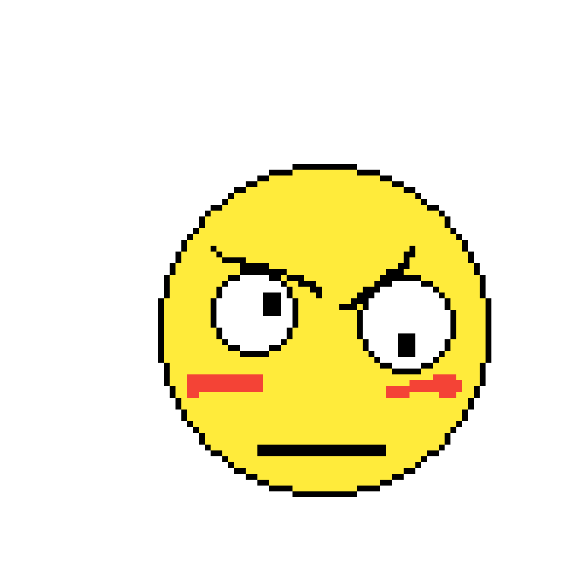 Emojis drawing creative uses. Pixilart derpy angry warrior