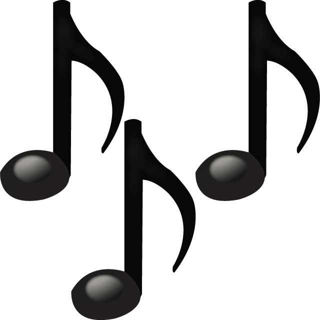 Emoticon musical notes png. Be thankful for freedom