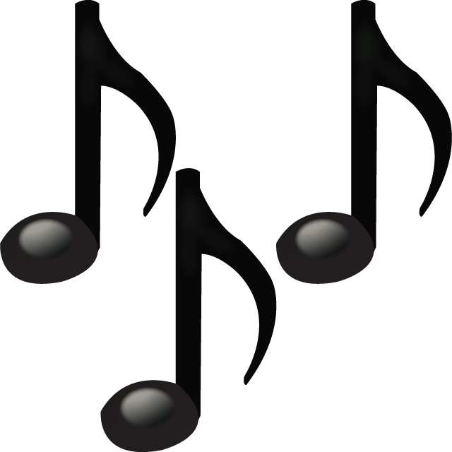 Emoticon musical notes png. Download all emoji icons