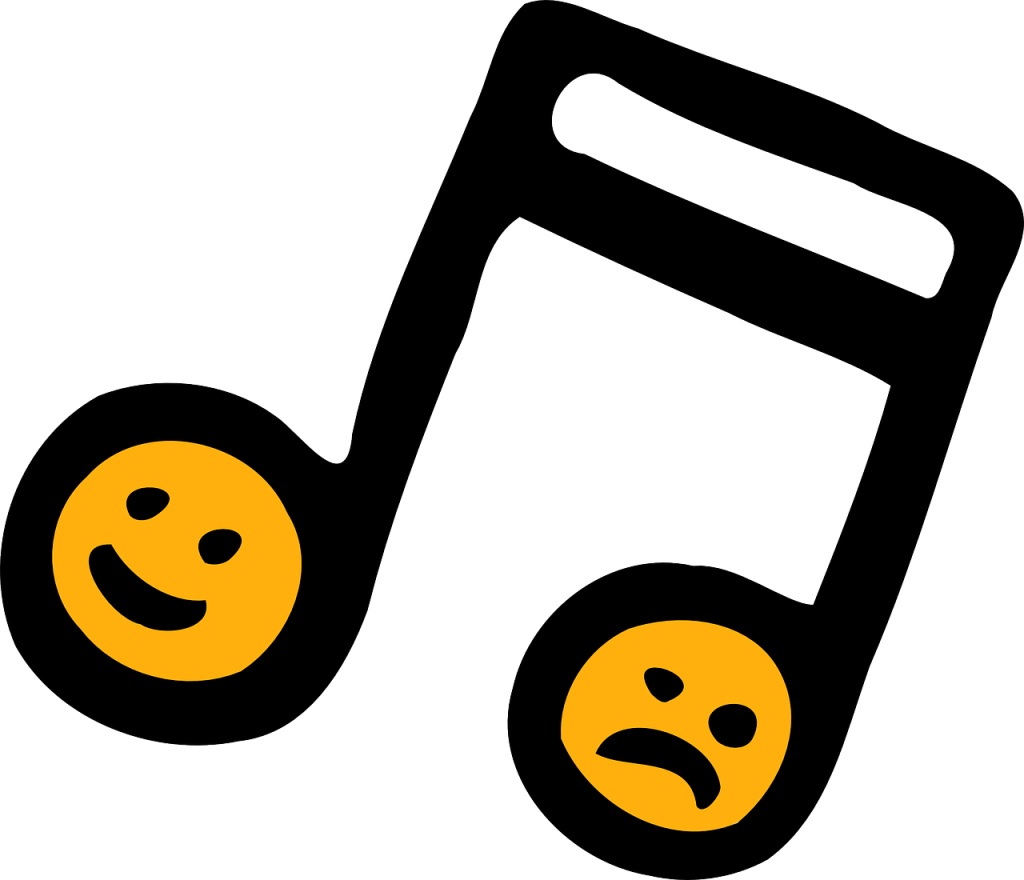 Emoticon musical notes png. Note eighth sixteenth clip