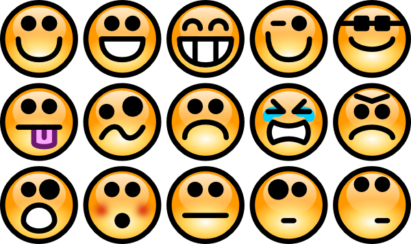 Emotions clipart banner royalty free library