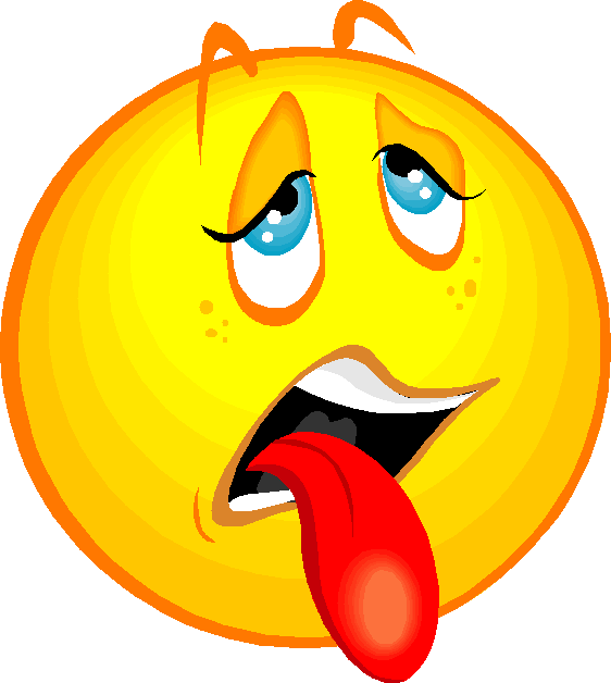 Taste clipart disgust. Free disgusted face emoticon