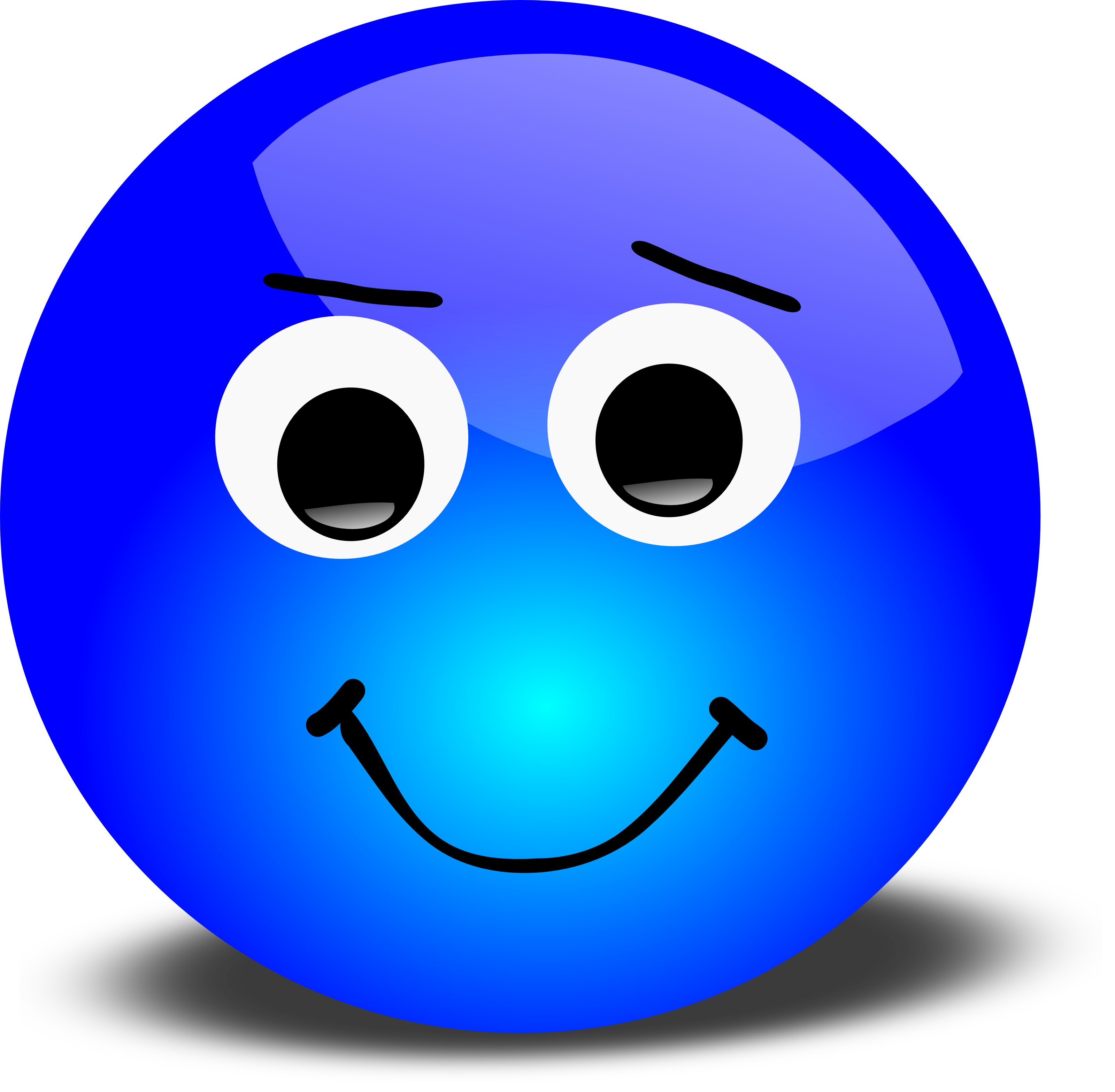 Emotions clipart emotional wellness. Smiley face clip art