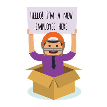 Transparent welcome new hire. Blog how to chamber