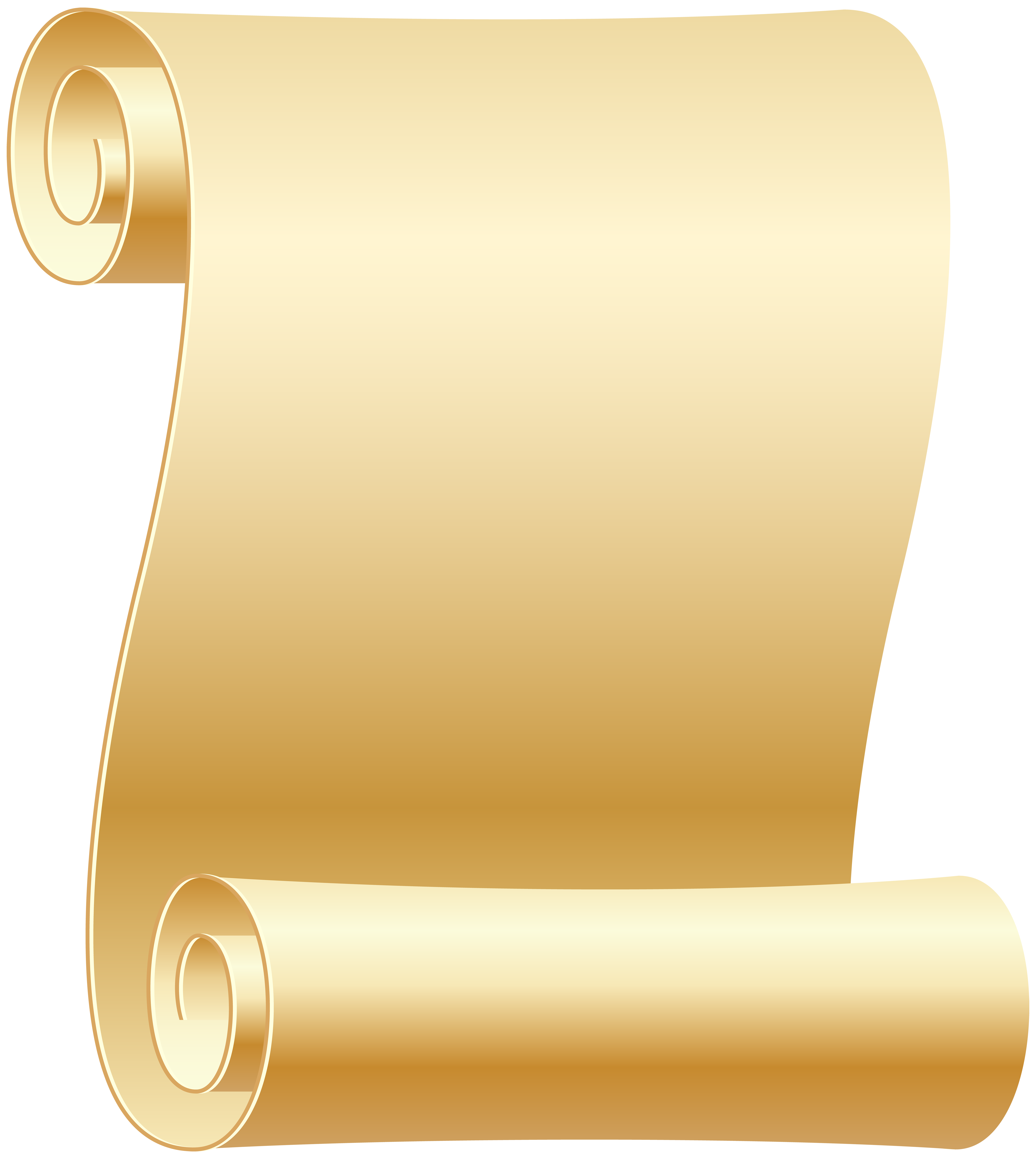 Scroll transparent png art. Empty clip image freeuse