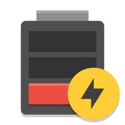 Empty battery png. Charging icon papirus status
