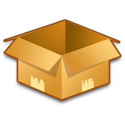 Empty box png. Image