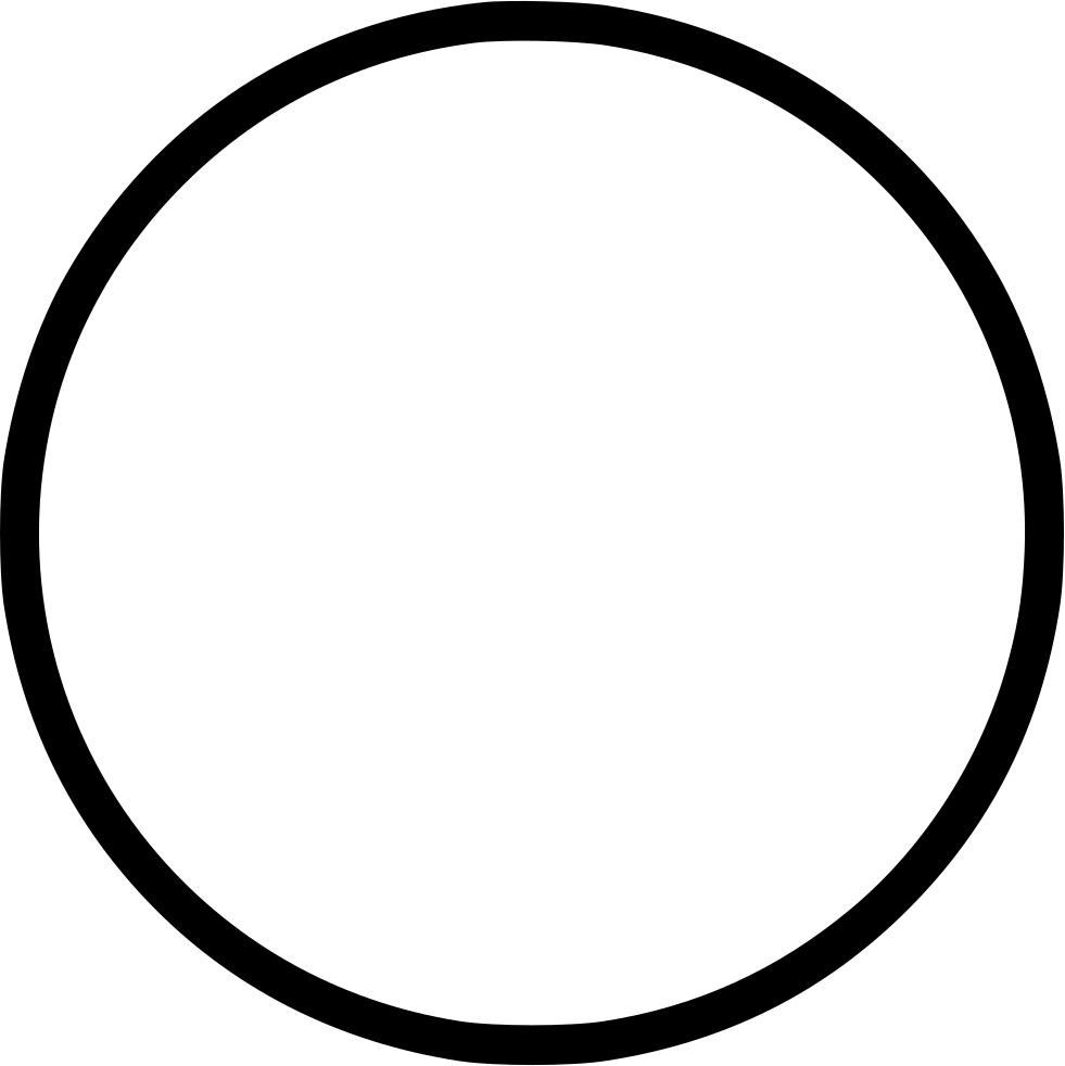 Empty circle png. Round svg icon free