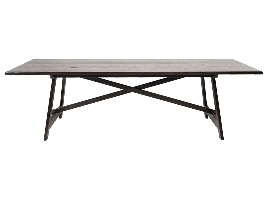Empty dinner table png. Trestle dining corso de
