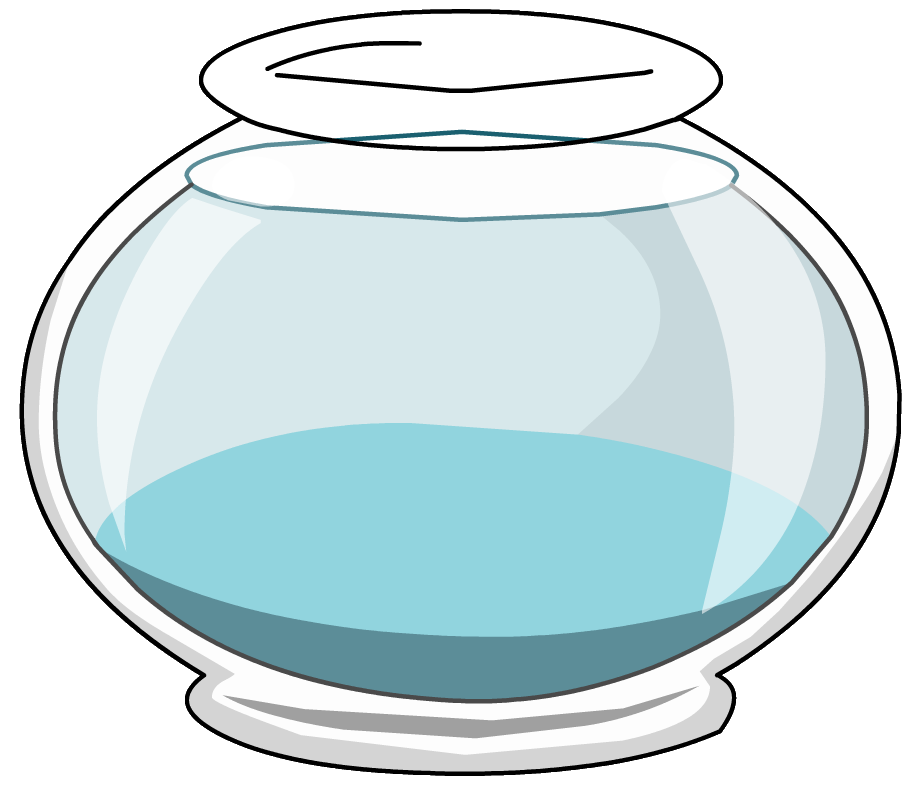 collection of fish. Fishbowl clipart vector transparent library