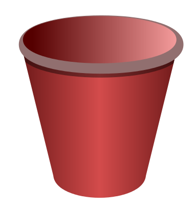 Empty flower pot png. Collection of clipart