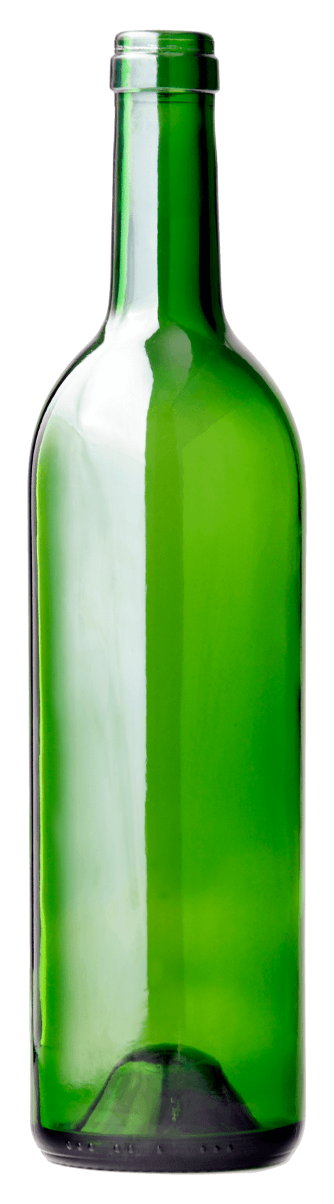 Long gree free images. Empty liquor bottle png banner transparent