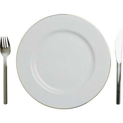 Plate clipart plate utensil. Empty transparent png stickpng