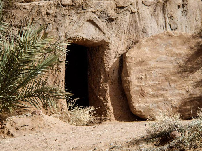 Empty tomb clipart palm sunday. Free bible images of