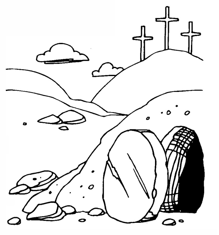 Empty tomb clipart palm sunday. Best dsd images