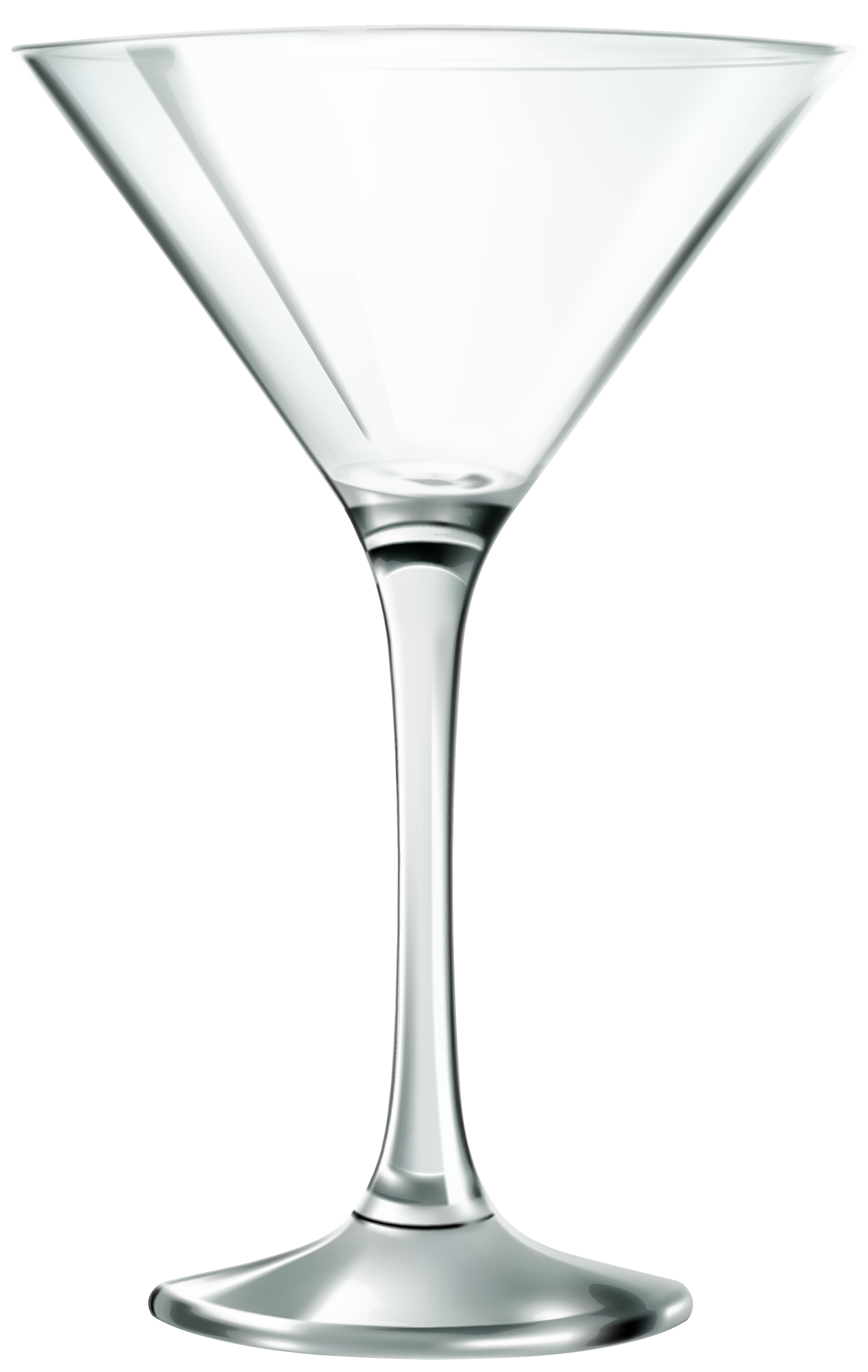 Empty glass clipart best. Martini silhouette png transparent library