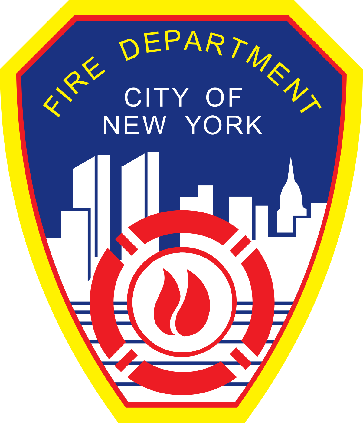 Emt svg fire rescue. New york city department