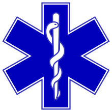 Emergency technician wikipedia star. Vector offices medical office clip art
