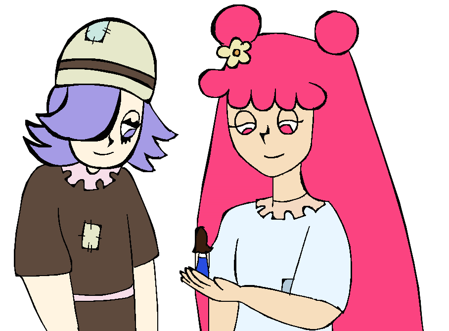 Giantess drawing gentle. Amiyumi giants meet ella