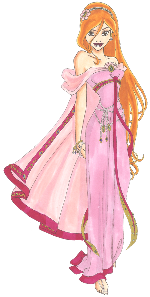 Enchanted drawing giselle. Disney glamour by sil
