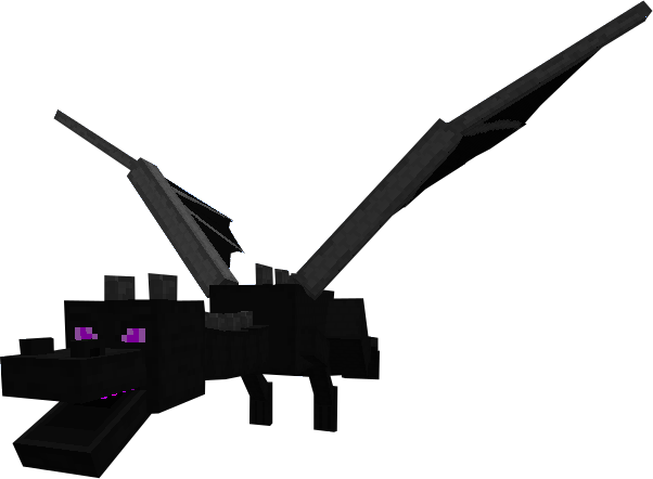 Ender dragon png. Minecraft by scott on