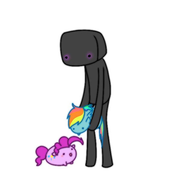 Enderman drawing adorable. Gosh darn endermen by