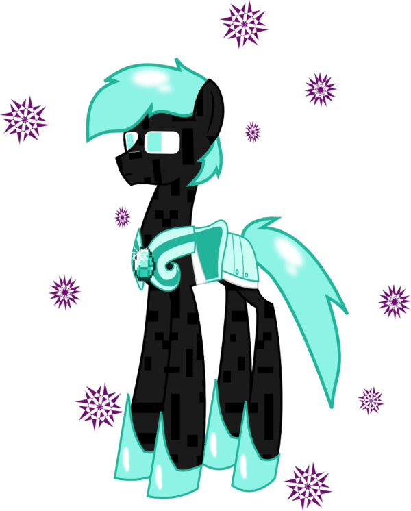 Enderman drawing minecraft mlp. X diamond armor by