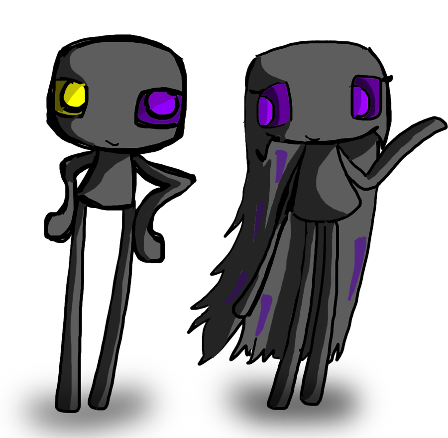 Enderman drawing realistic. New id by ask