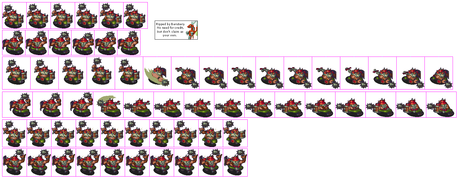 Enemy sprite png orc. The spriters resource full