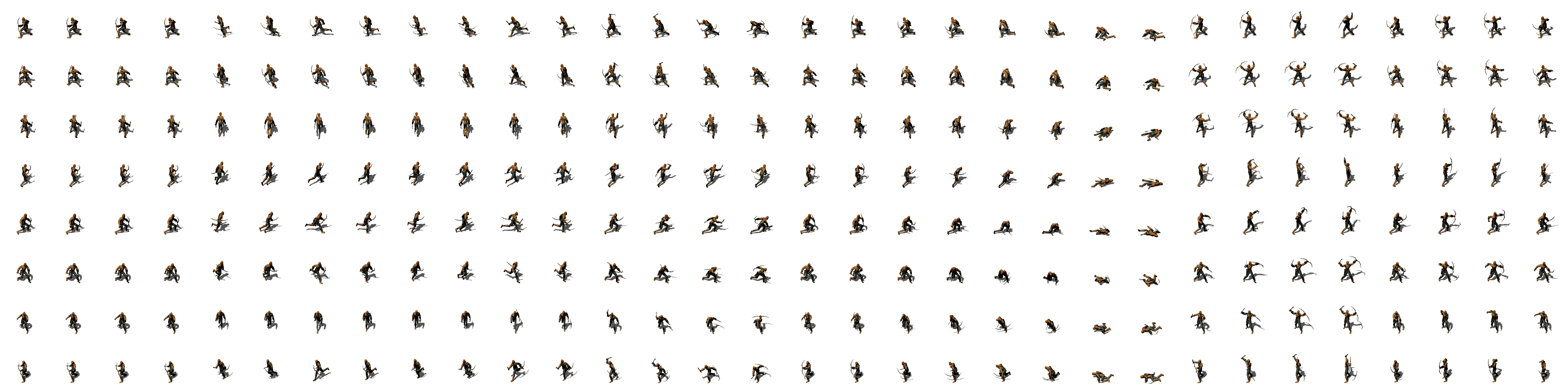Enemy sprite png orc. Flare sheets opengameart org