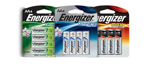 Energizer battery png. Comparison chart sizes with