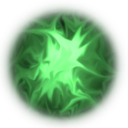 Energy transparent green. Ball png images in