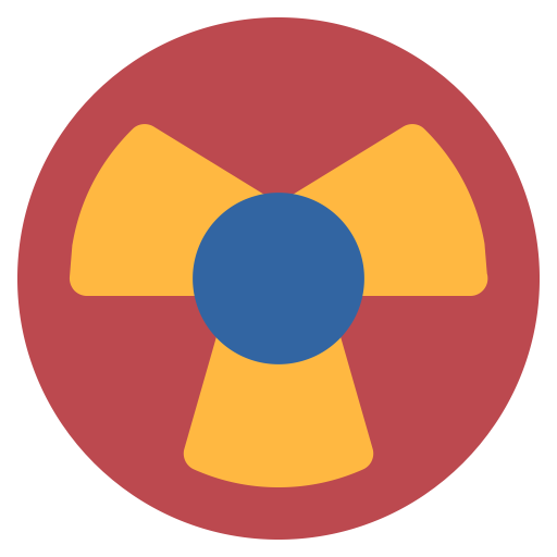 Energy clipart atomic energy. Nuclear power radiation icon