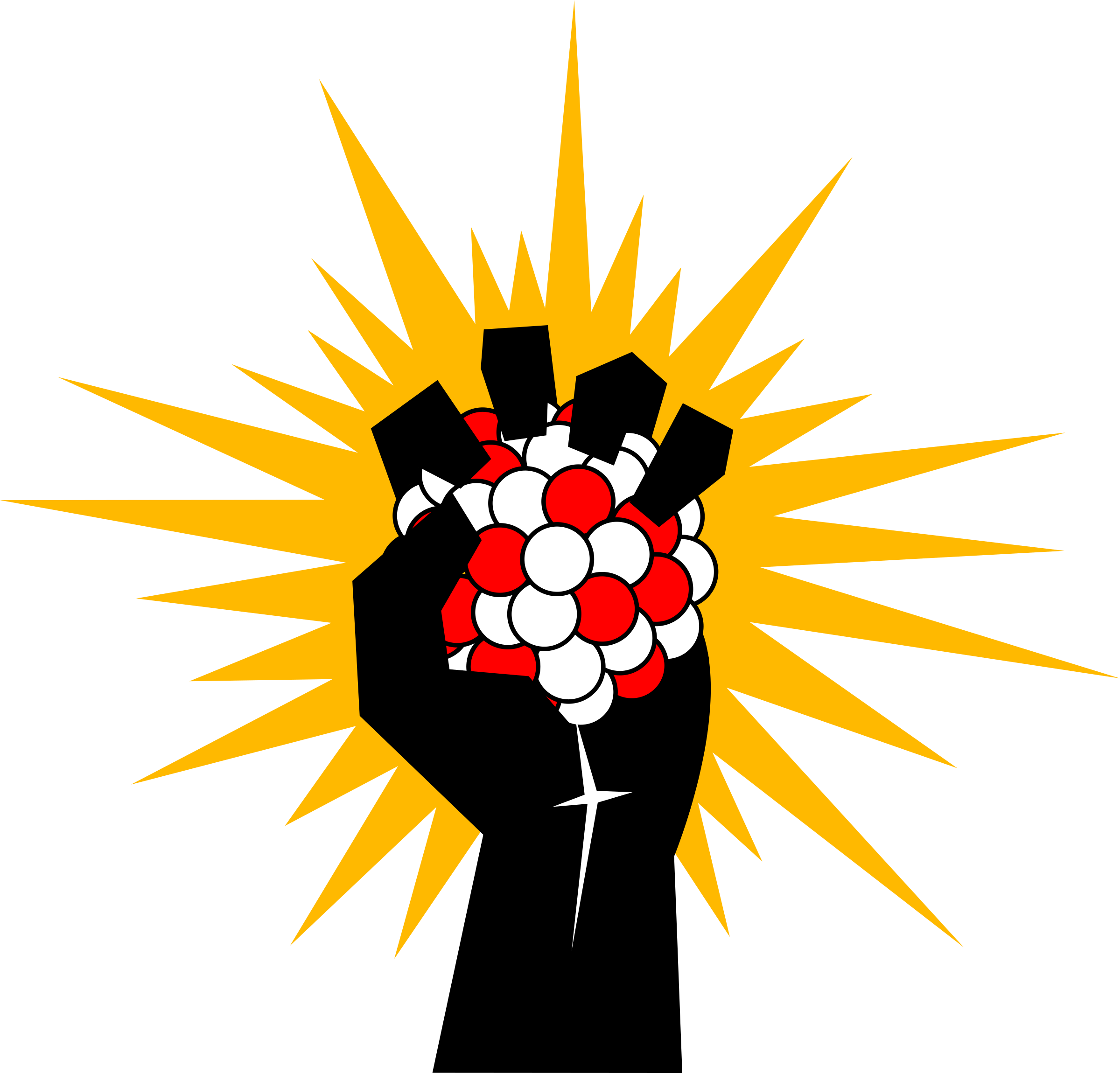 Energy clipart atomic energy. Fist big image png