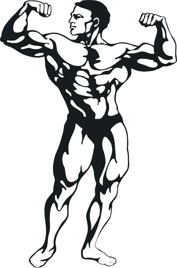 Energy clipart gym. Free muscle man download