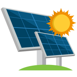 solar panel clipart solar power