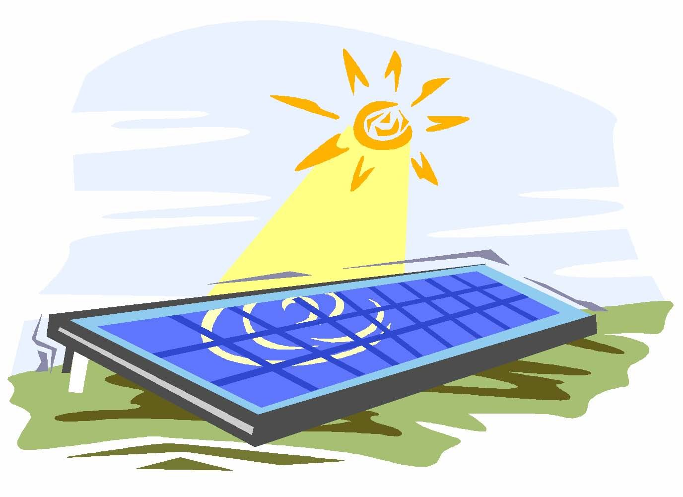 Energy clipart solar panel. Black and white beautiful