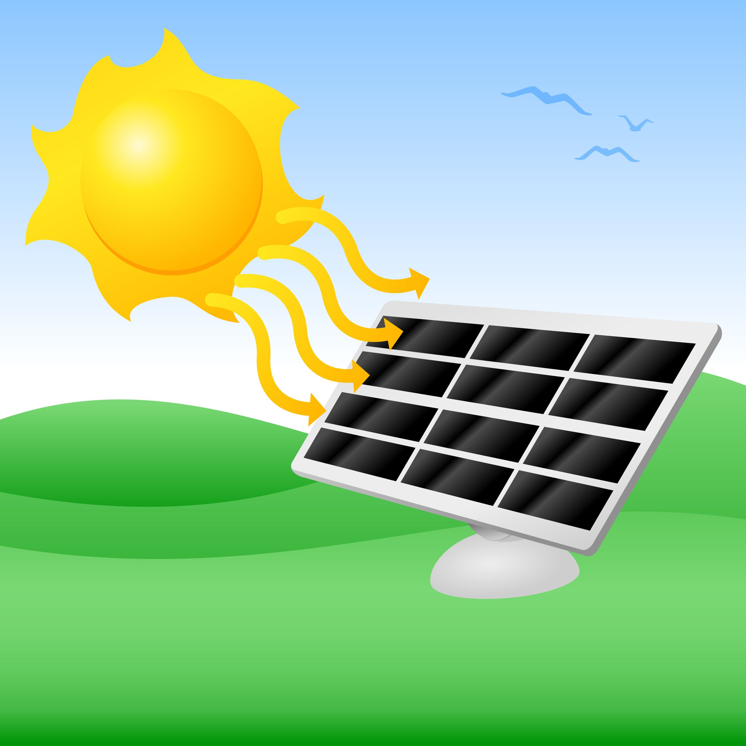 solar panel clipart solar heater