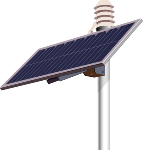 Solar panel clipart energy source. Clip art at clker
