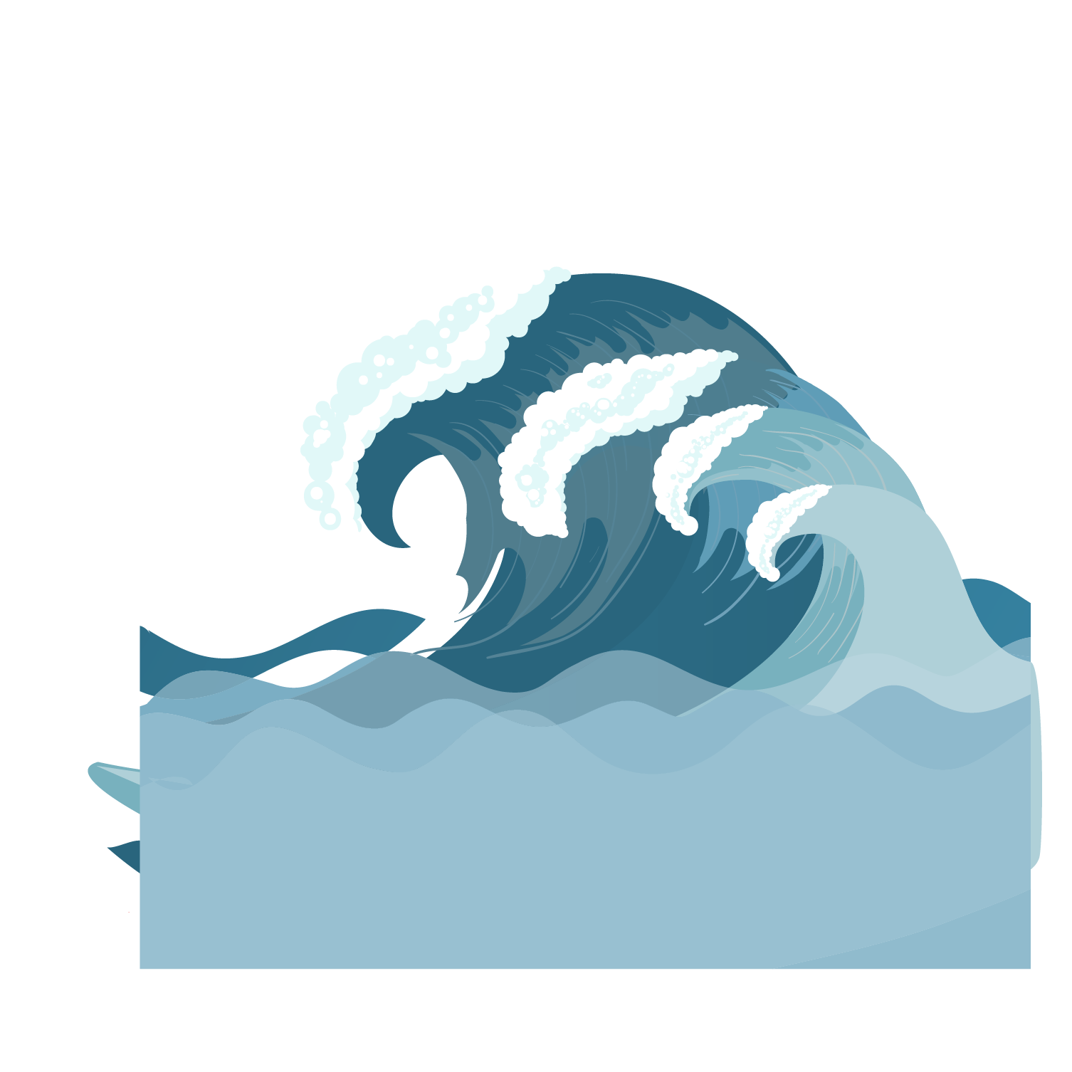Wave clip energy. Waves clipart arts for
