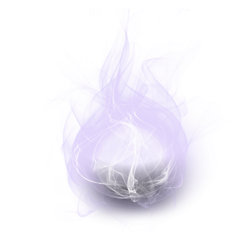 Transparent orb energy. Download png image hq