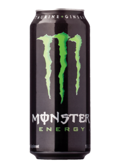 Energy transparent monster. Total wine more