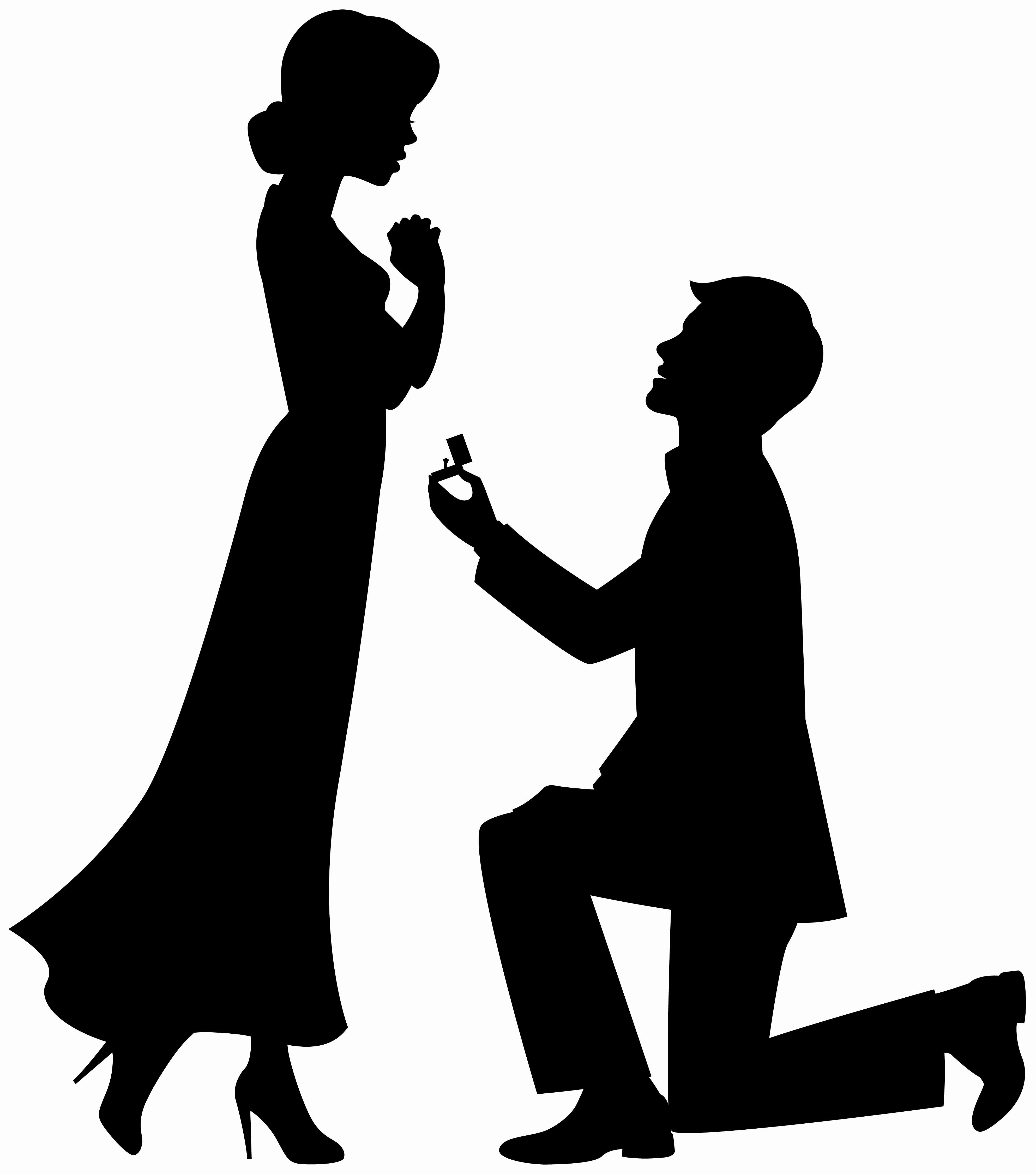 Engagement clipart. Ring silhouette at getdrawings